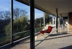 Villa Tugendhat_pilastri acciaio