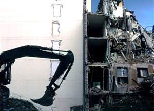 Demolizione abusi edilizi