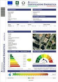 Attestato Certificazione Energetica Cened