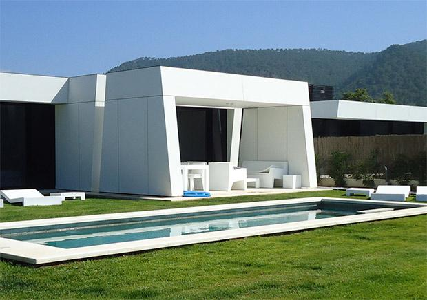 A-Cero: villa prefabbricata