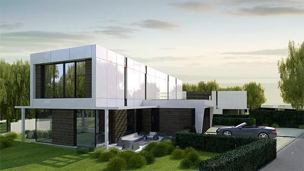 A-Cero: villa residenziale prefabbricata