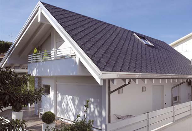 tetto con tegole in ardesia, di Ardogres