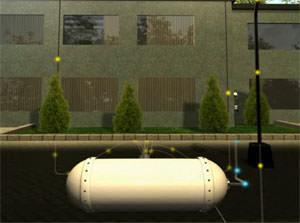 Subsolar: cabina sotterranea