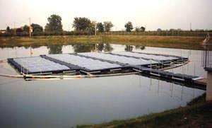 Impianto fotovoltaico galleggiante: Solarolo