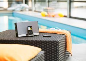 Micro-stereo touchscreen per iPhone: sistema digitale portatile SoundDock® di Bose