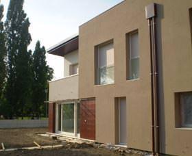 Villa bifamiliare ad Oderzo realizzata a basso consumo energetico