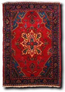 La casa in stile arabo: tappeto persiano di www.tappeti.it
