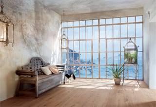 Casa in stile mediterraneo: Rovere Corallo Biando di Mafi-Italia