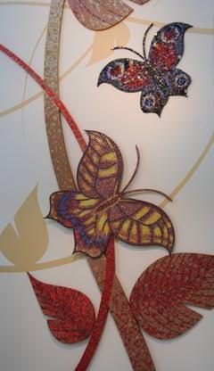 Mosaico artistico Mosaico+. foto arch.Pezzella Monica