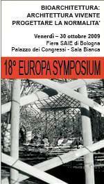 Europa Symposium: bioarchitettura