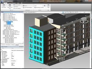software Revit: screenshot