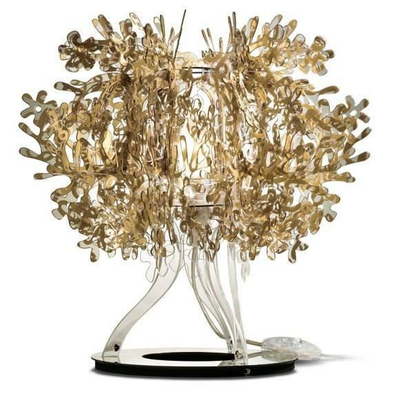 Illuminazione: lampada Fiorellina Gold di Slamp