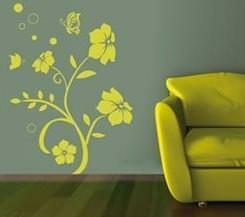 Wall paper: esempio floreale stilizzato