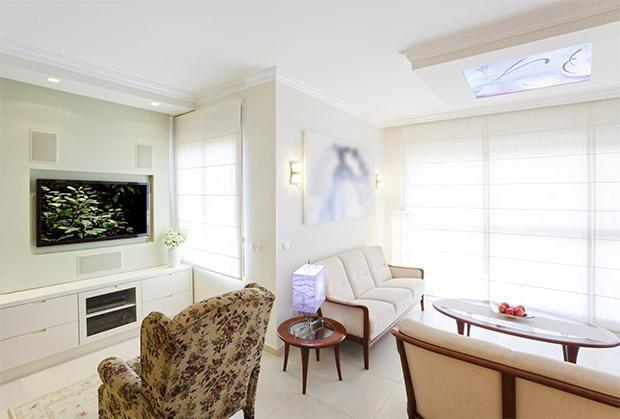 Space Clearing in soggiorno