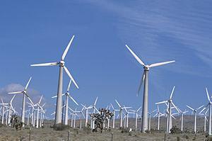 Impianto eolico a pale