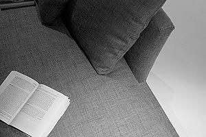 Daniela Dipadova: particolare divano Matrix