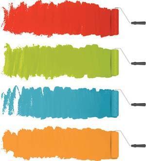 Tinteggiare la casa: scelta dei colori
