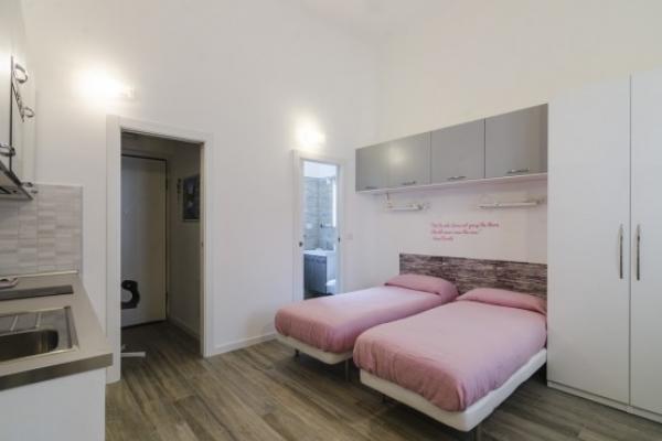 Camera da letto in appartamentoristrutturato da Novatect