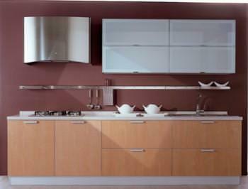 Progetto Cucina: esempio di cucina in linea