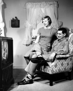 La televisione negli anni '50