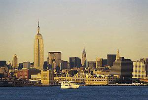 Skyline con Empire State Building