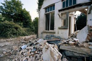 Edificio crollato