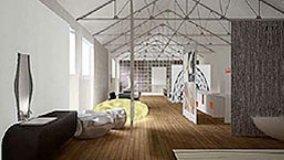 Realizzazione di un loft estemporaneo