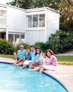 Casa per le vacanze con piscina