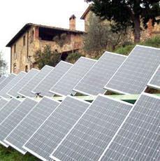 Càle: impianto ad inseguitori solari