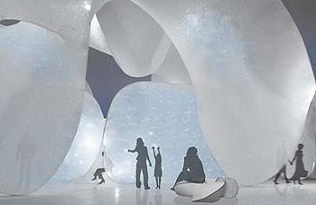 Prospettiva sezione Hibiku, NEOREAL: A new visual expression created by Canon.