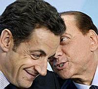 Vertice Sarkozy-Berlusconi