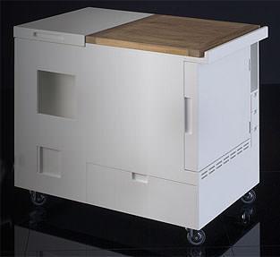 Cucina in armadio contemporaneo - Armadio cucina monoblocco ...