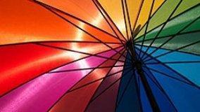 Tinteggiare con l'arcobaleno