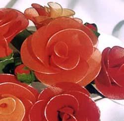fiori in filo di nylon