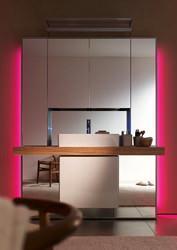 Mirrorwall: colonne di luce direzionali