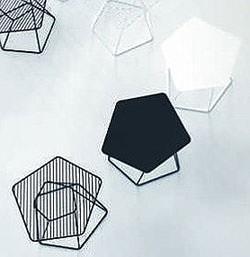 Tectonic Tables di Alain Gilles realizzati da Bonaldo