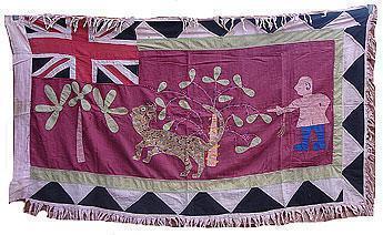 Tessuto Asafo di Adire African textiles