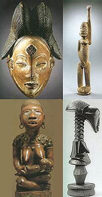 Statue e maschere  di Craft Art