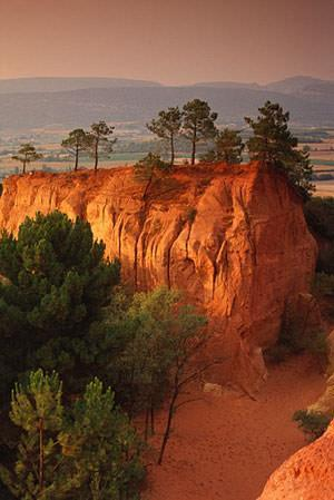 France, Luberon, Roussillon