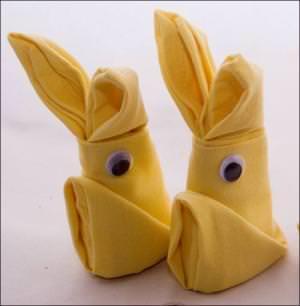 tovaglioli coniglietti