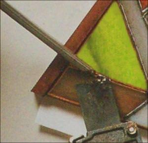 saldatura del vetro