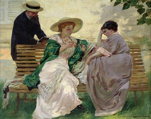 The Chat (oil on canvas) Musee de la Ville de Paris, Musee du Petit-Palais, France