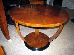 Arsantik: Tavolino rotondo Art Decò