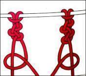 macramè catena semplice