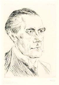 Peter Behrens, ritratto di Max Liebermann da wikipedia