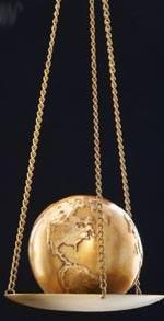 bilancia in oro