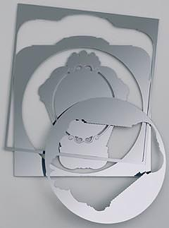 Narcisse five mirrors di Domestic