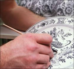 porcellana decorata