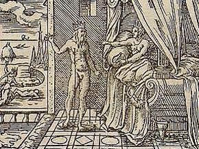 Morfeo appare ad Alcione dal libro delle Metamorfosi: da Wikipedia