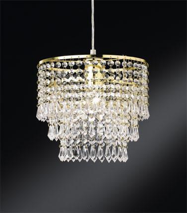 lampadario in vetro